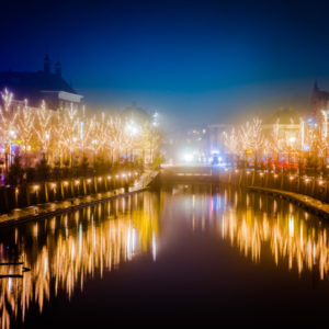 Haven kerst breda verlichting
