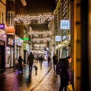 Karrestraat verlichting ornamenten feestverlichting breda kerst